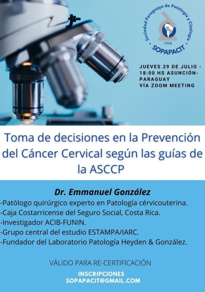 Jueves 29 de Julio 18:00 hs Asunción - Paraguay Via Zoom Meeting